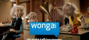 Screenshot from Wonga TV commercial