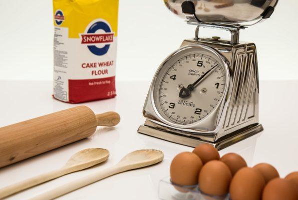 Five specks of flour