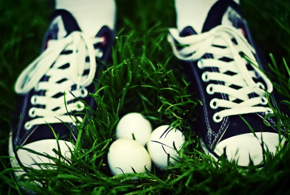 Easter Eggs Are Not Like Shoes
